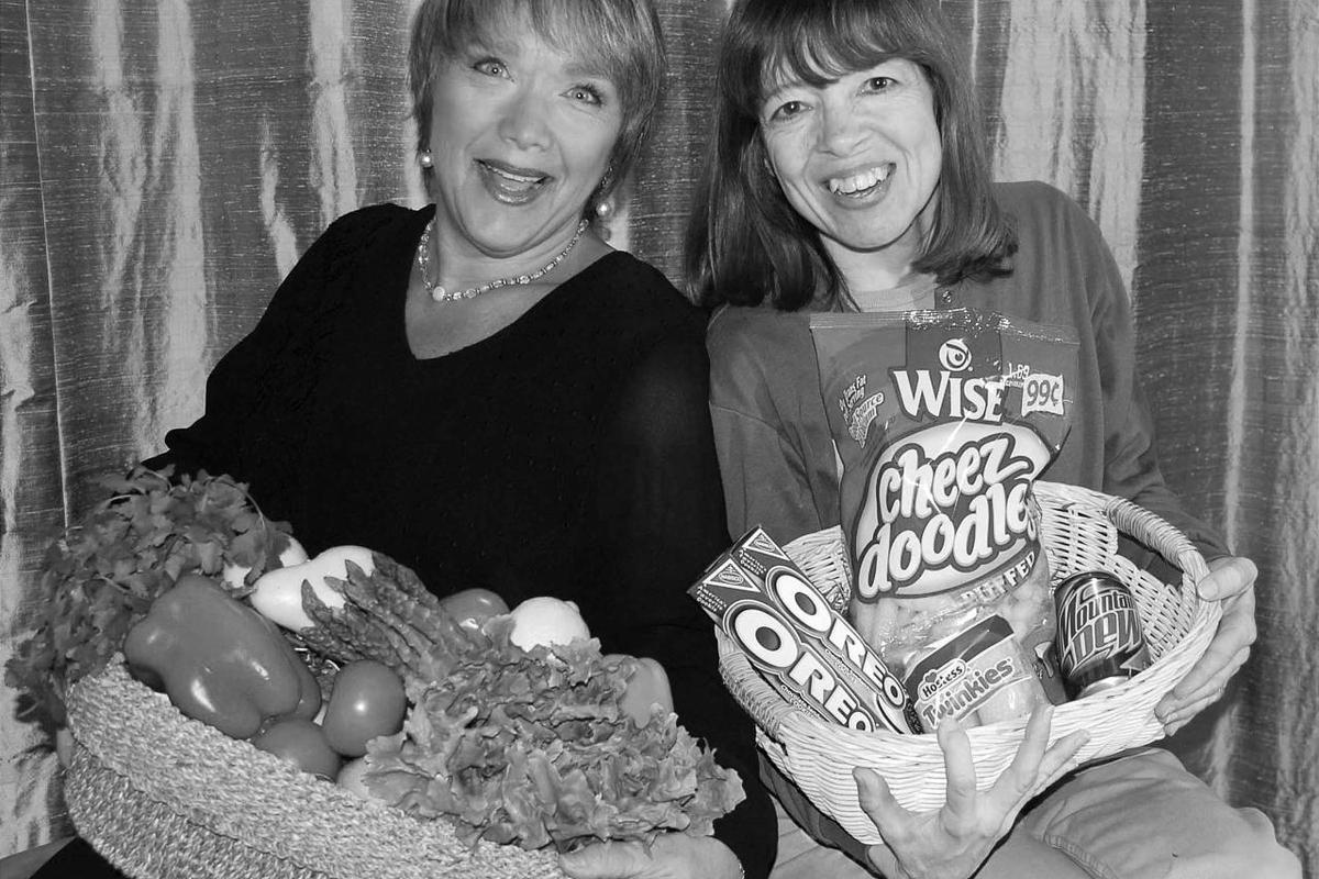 Bonnie Tandy LeBlang, left, and Carolyn Wyman began their syndicated column in 1987.  Bonnie Tandy LeBlang, left, and Carolyn Wyman began their syndicated column in 1987.