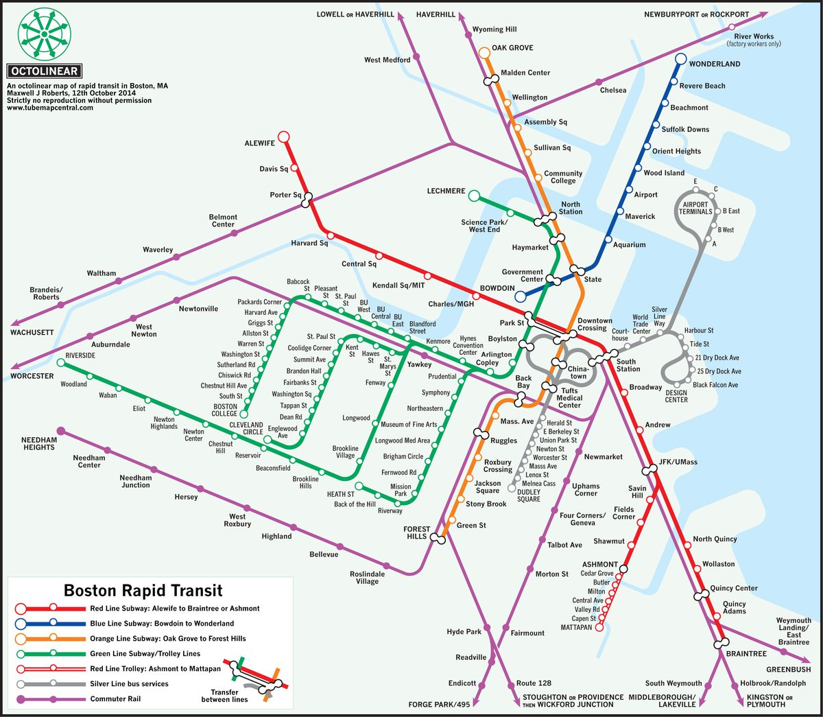 Outside the lines: 6 maps that re-imagine Boston\'s T - Curbed Boston