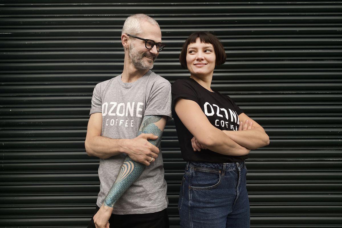 Ozone Coffee t-shirt, merch