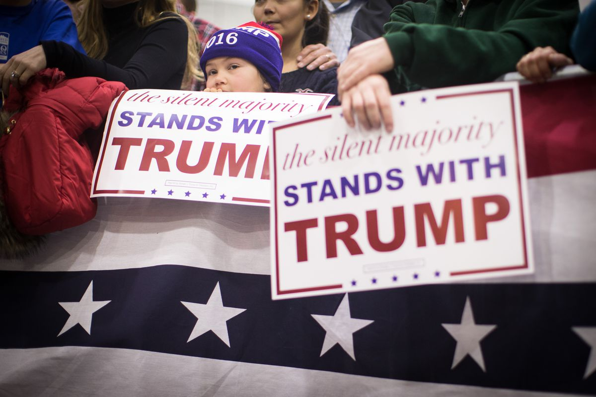 """""""The Silent Majority Stands With Trump."""""""