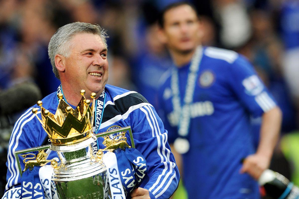 Chelsea's Italian manager Carlo Ancelott
