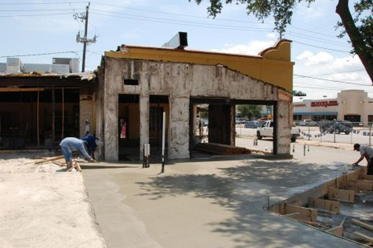 The future home of Houston's Underbelly.
