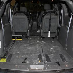 This undated evidence photo released Monday, May 20, 2013, by the West Valley City Police Department shows the family minivan Josh Powell says he used to take his sons on a camping trip the night Susan Powell disappeared. Citing a lack of leads, a police agency said Monday that it is closing the active investigation of the disappearance of Susan Powell, a Utah mother whose now-dead husband was a prime suspect. West Valley City police called the news conference to offer new details in the case that's been largely kept under wraps since Powell vanished in 2009. The announcement came after police spent two days searching in rural Oregon last week for any trace of Powell's body. Police released the case file, which includes details that have been kept under wraps since Powell vanished in 2009.