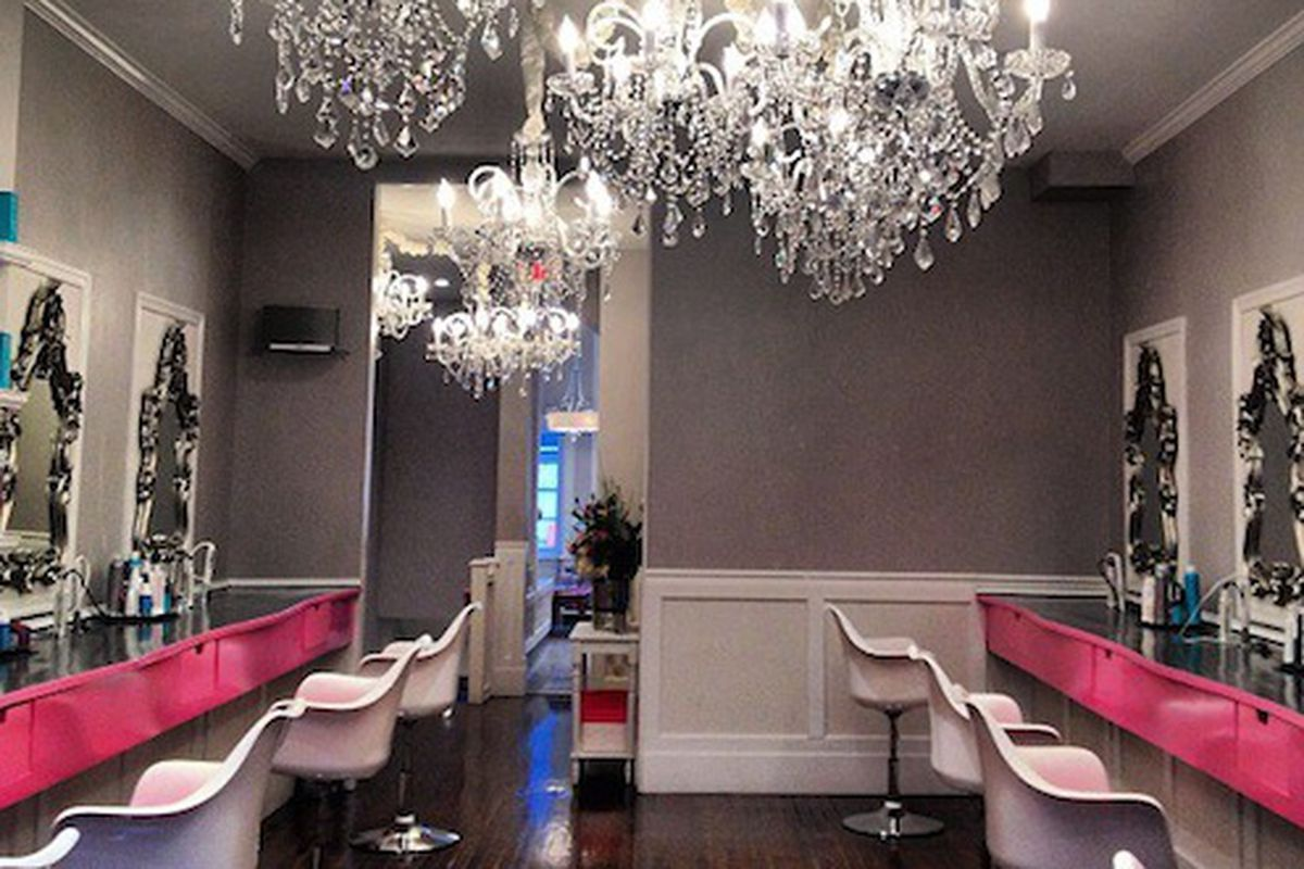 Image credit: Blo/Out Blow Dry Bar/DailyCandy