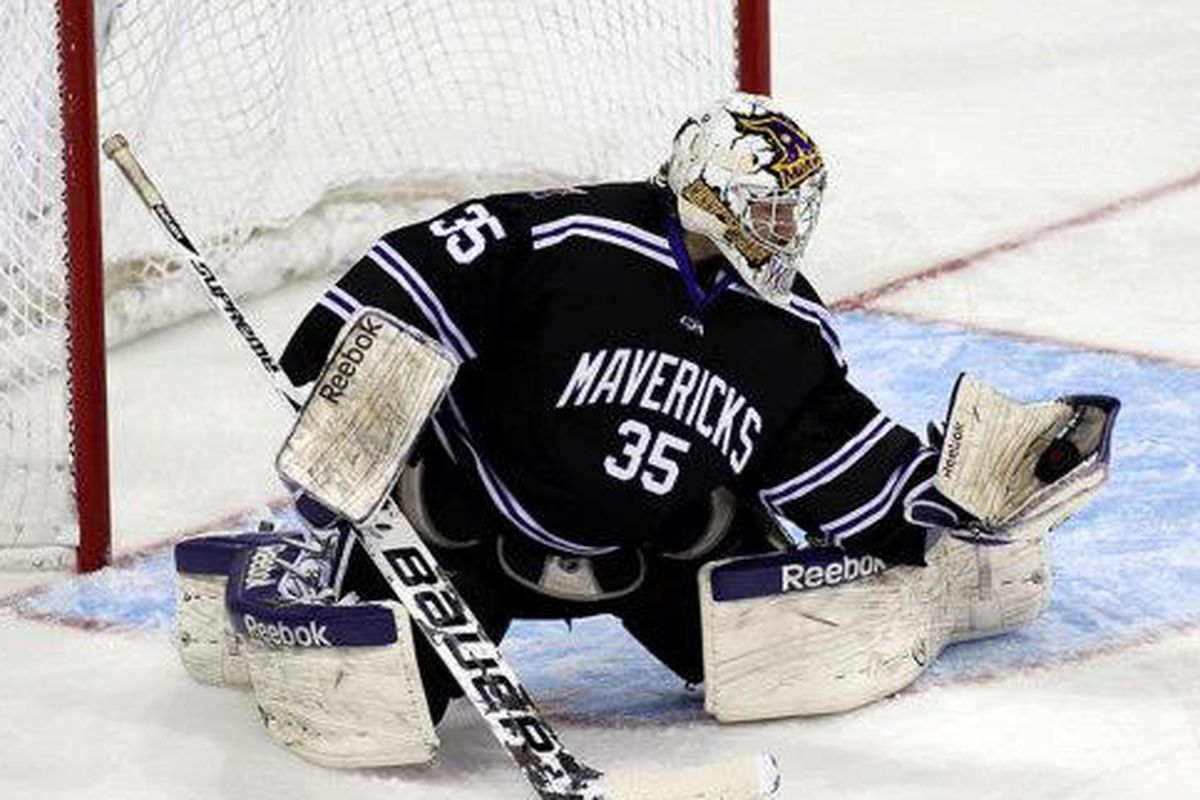 Minnesota State's Stephon Williams was selected 106th by the New York Islanders