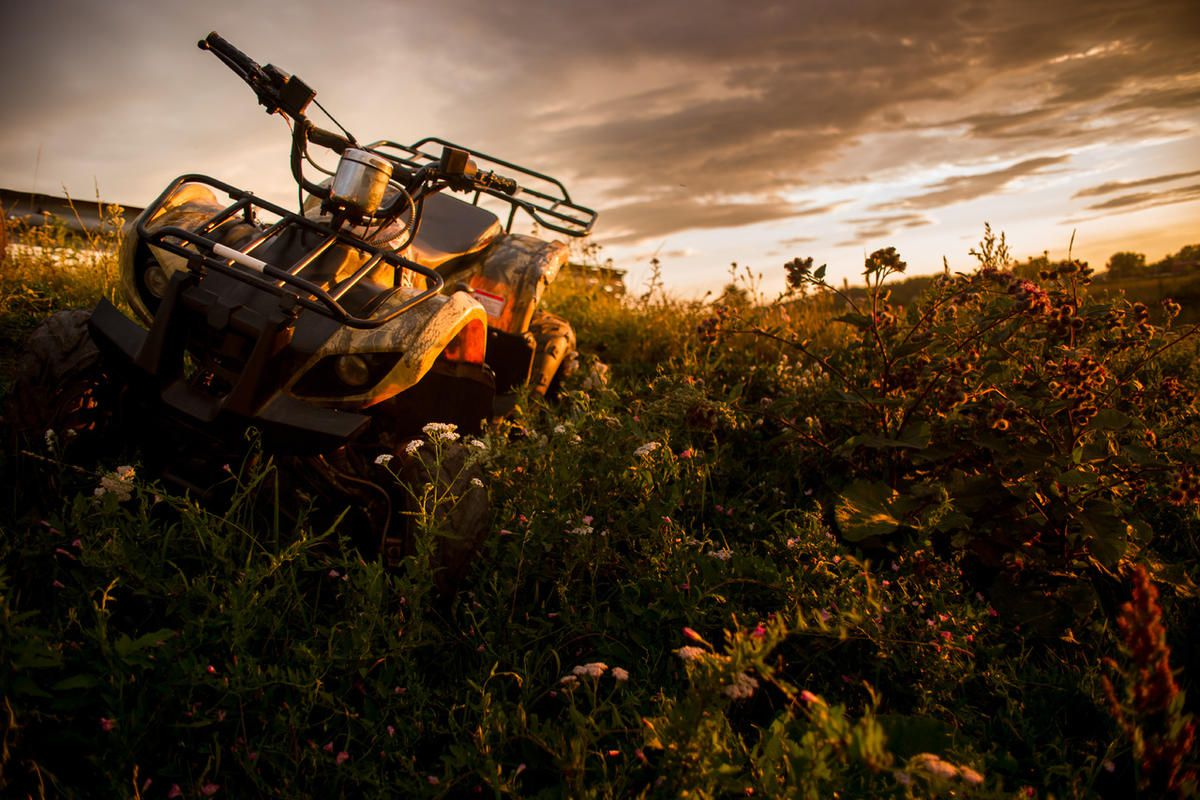 """FILE"""""""" A 13-year-old boy from West Jordan was killed after his ATV crashed into a tree Saturday in Wyoming, authorities said."""