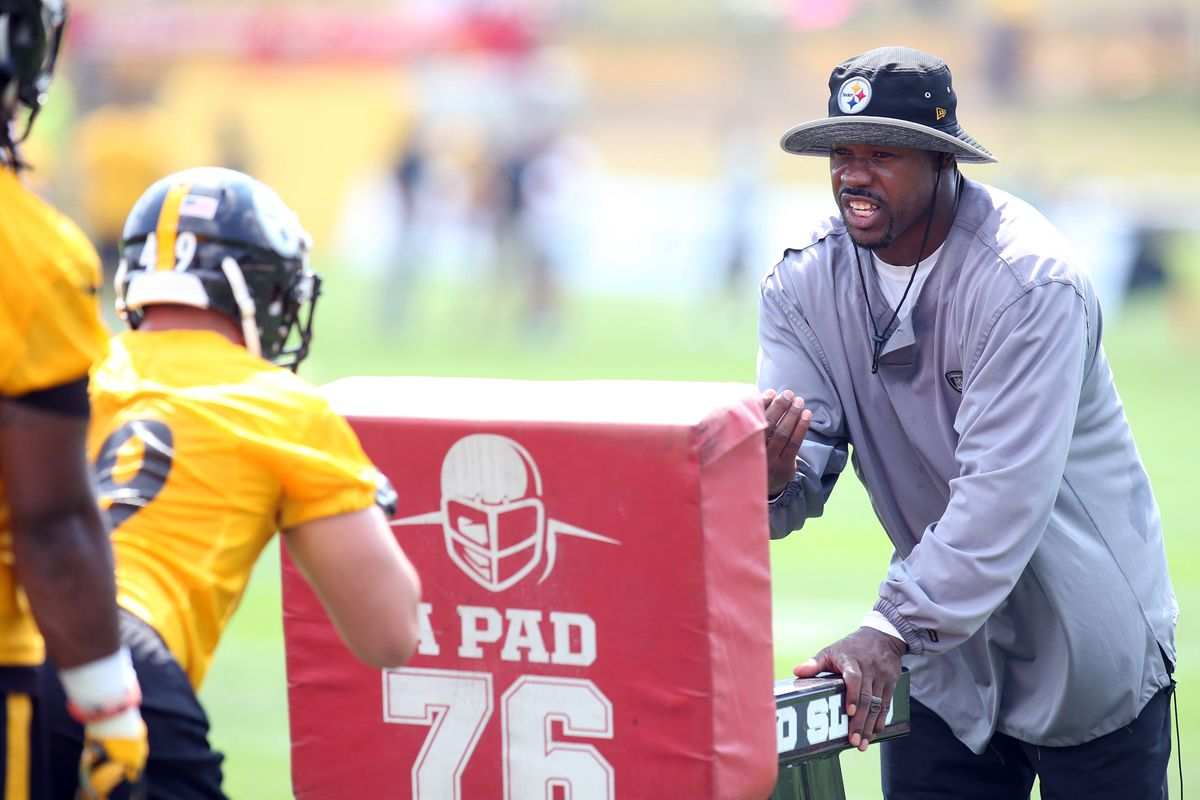 c549e7687da Joey Porter's work with the Steelers OLBs simply wasn't good enough ...