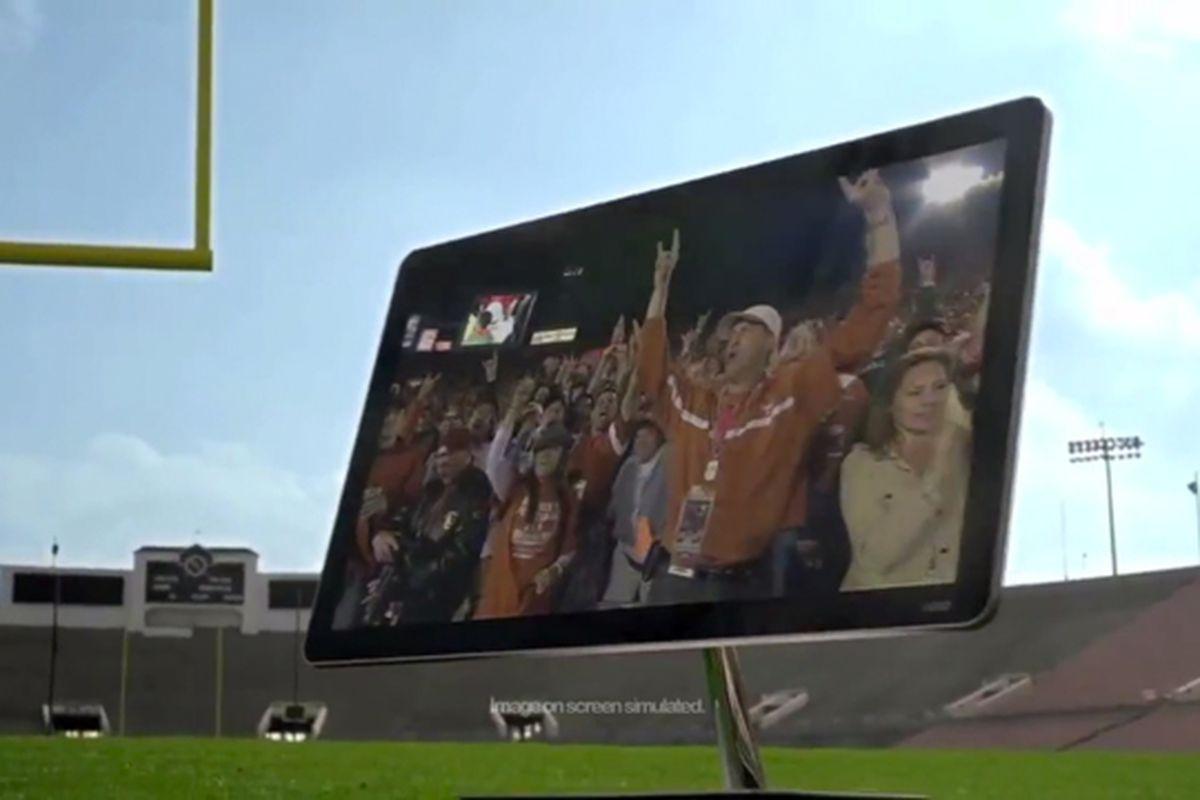 Vizio 2012 Rose Bowl Commercial