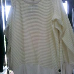 Rag & Bone oversized blouse, $169, at Off Fifth