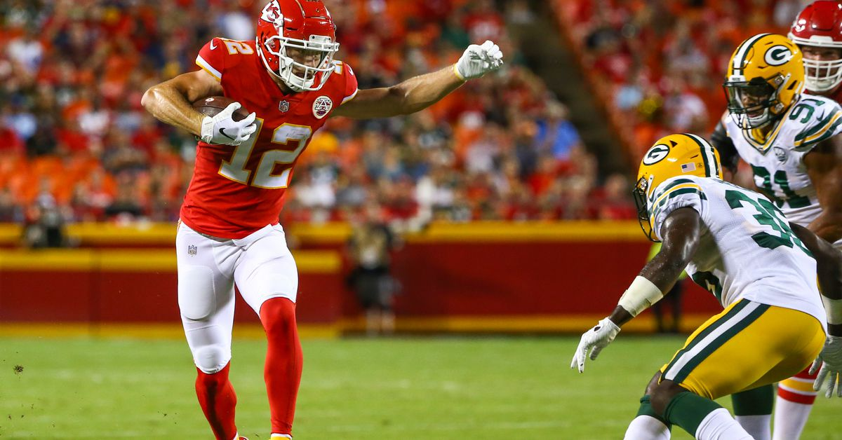 Chiefs promote wide receiver Gehrig Dieter to active roster