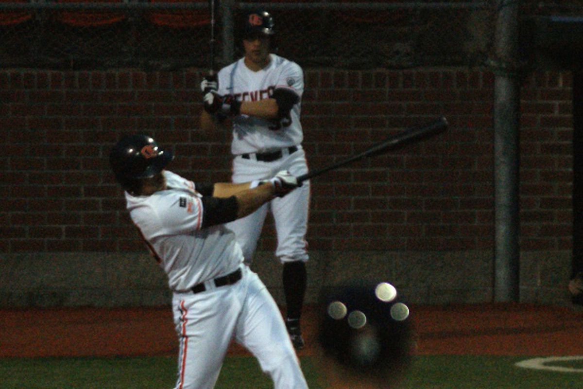 Dylan Davis' first home run of the season constituted all of Oregon St.'s offense in the series opener against San Francisco. The Beavers will need more bats to connect to gain a series split against the Dons.