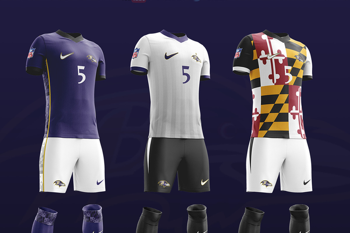 timeless design 02f96 17a84 Feast your eyes on the Ravens concept soccer uniforms ...