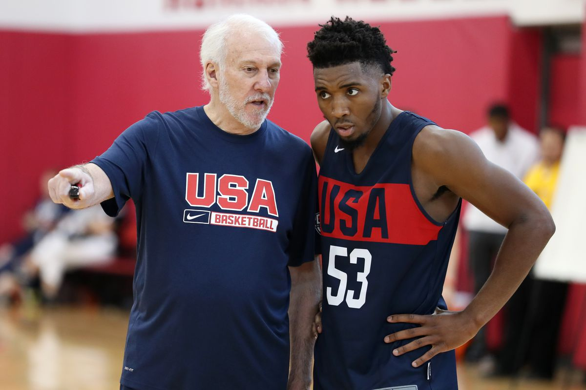 size 40 497fc 930d5 Donovan Mitchell is headlining team USA basketball - SLC Dunk