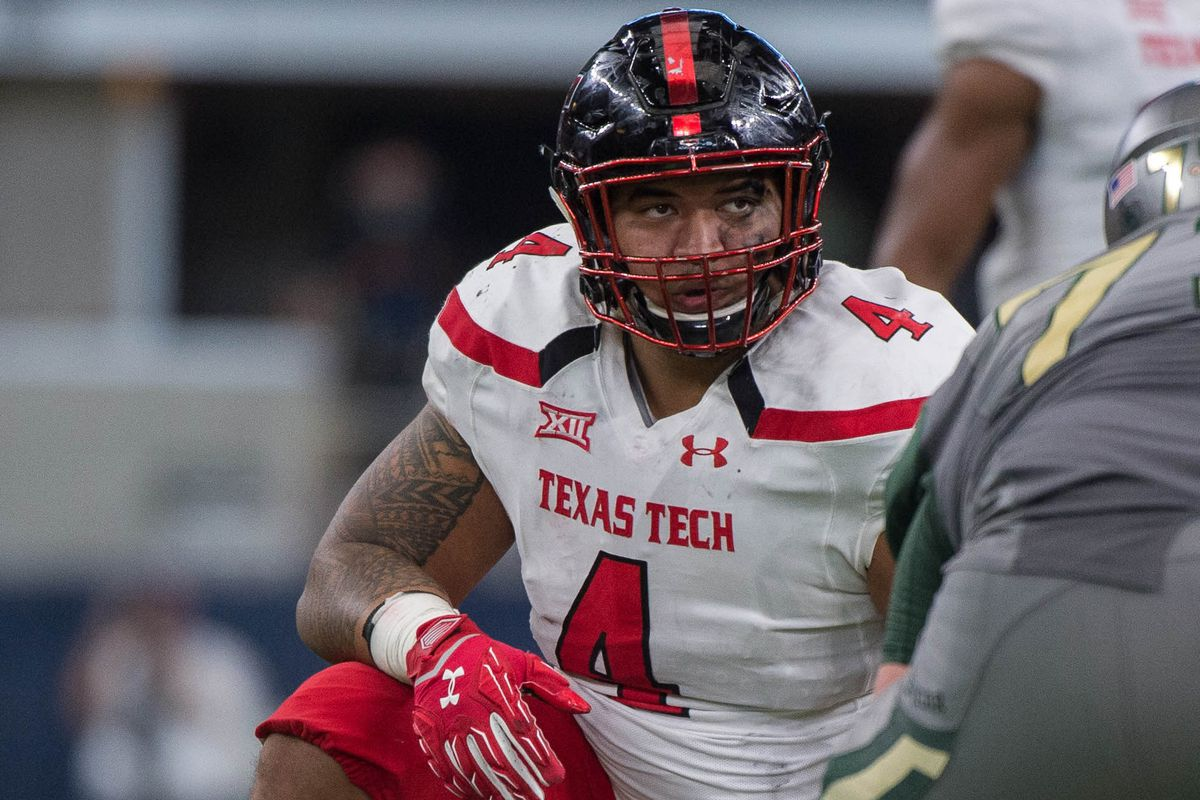 Breiden Fehoko is a young player that could be dominate for Tech in the future.