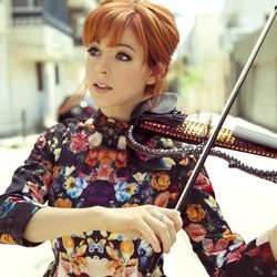"""Dancing violinist Lindsey Stirling's book, """"The Only Pirate at the Party,"""" hit shelves and websites Jan. 12."""