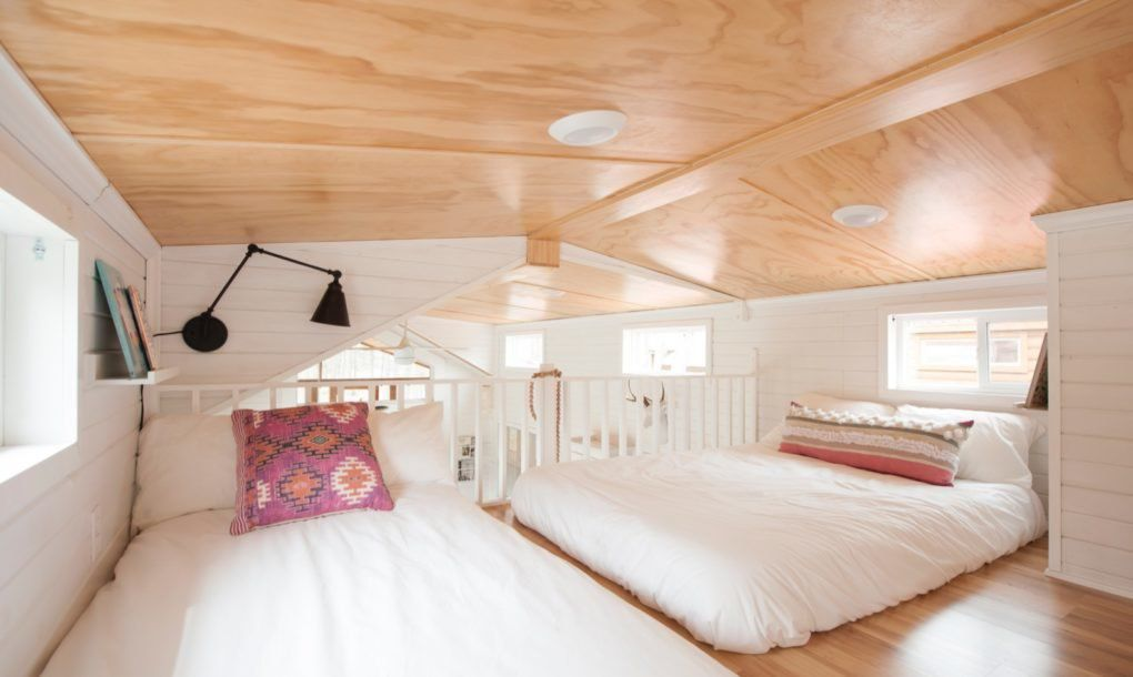 Two beds in loft
