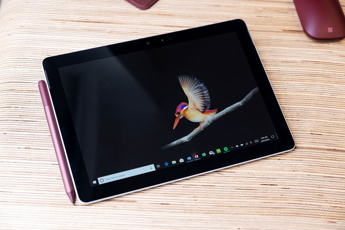 Microsoft's Surface Go tablet has a 10-inch screen and