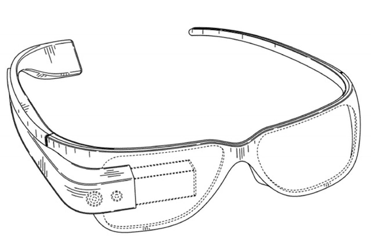 google project glass patent