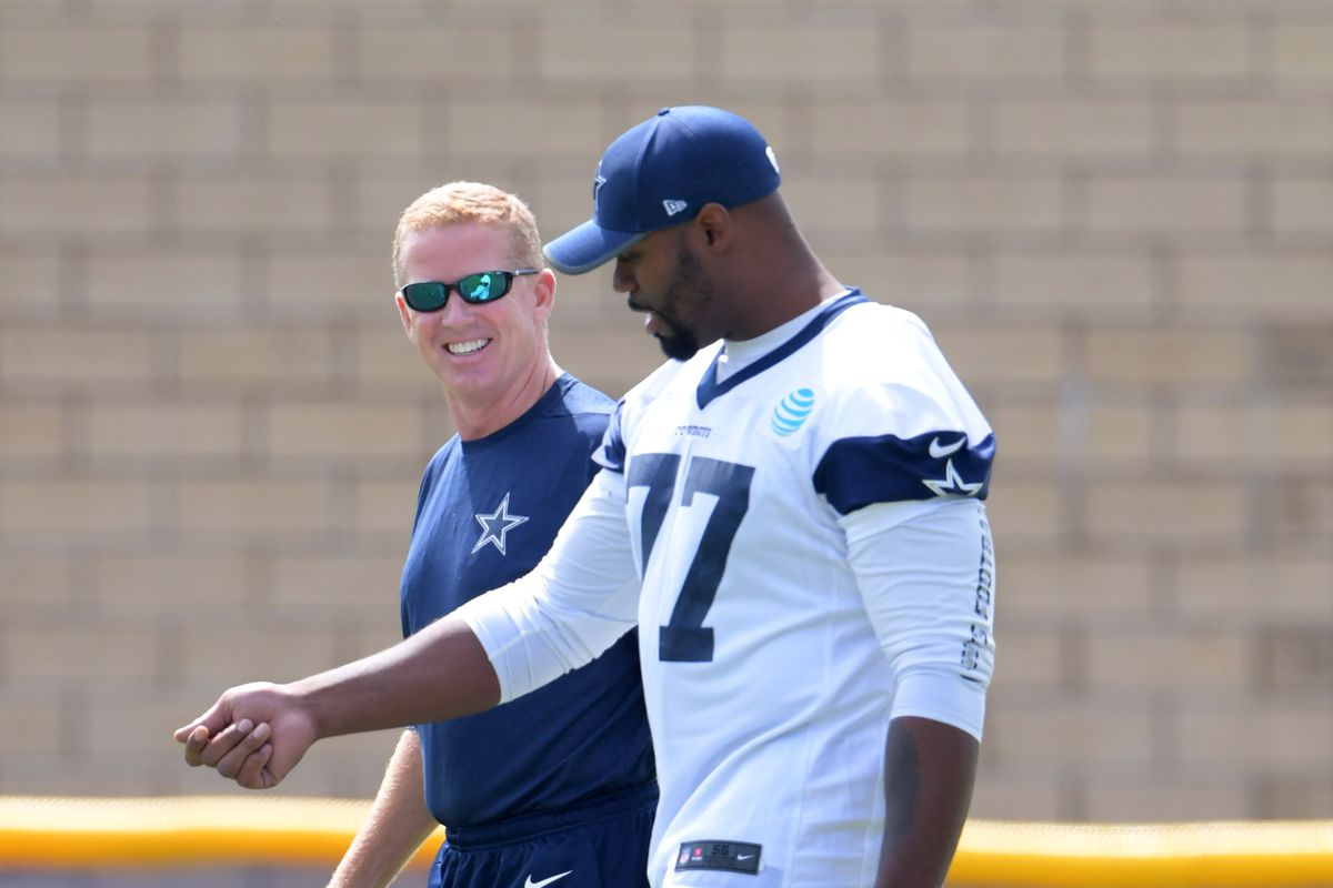 There is a report that Tyron Smith has been ruled out of the