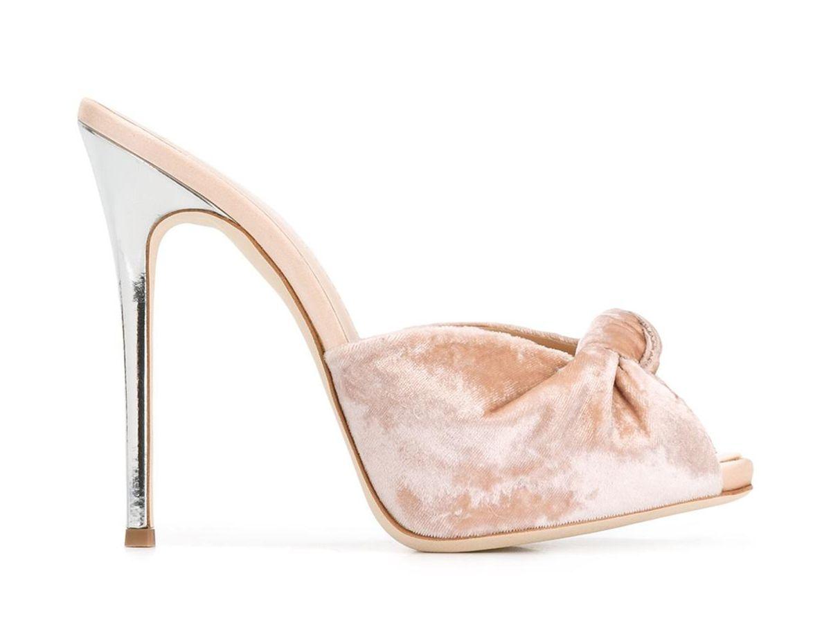 Giuseppe Zanotti Design Bridget Mules, $625 (similar, $90)
