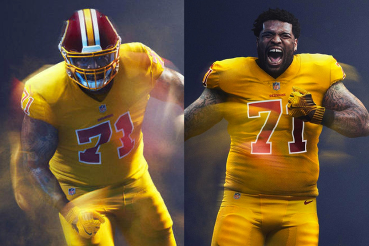 483783464f6 Thursday Night Football typically means we get to watch two teams play with color  rush uniforms. The results vary from team to team. The Rams' all-yellow ...