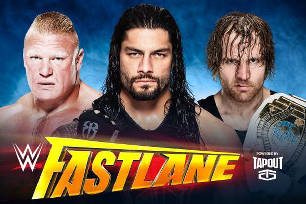 WWE Fastlane 2016 match card, rumors - Cageside Seats