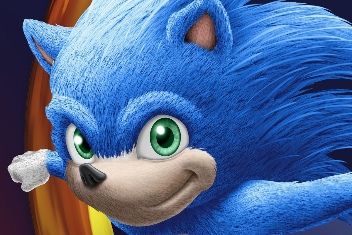 Image result for picture of sonic the hedgehog movie
