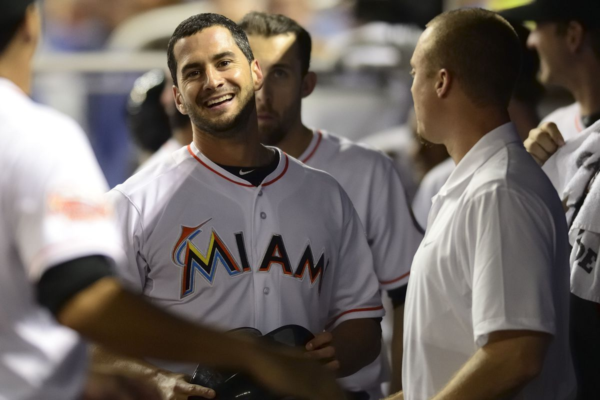 Could the Miami Marlins celebrate like this, but in the World Series? Probably not, but they have a (small) shot!