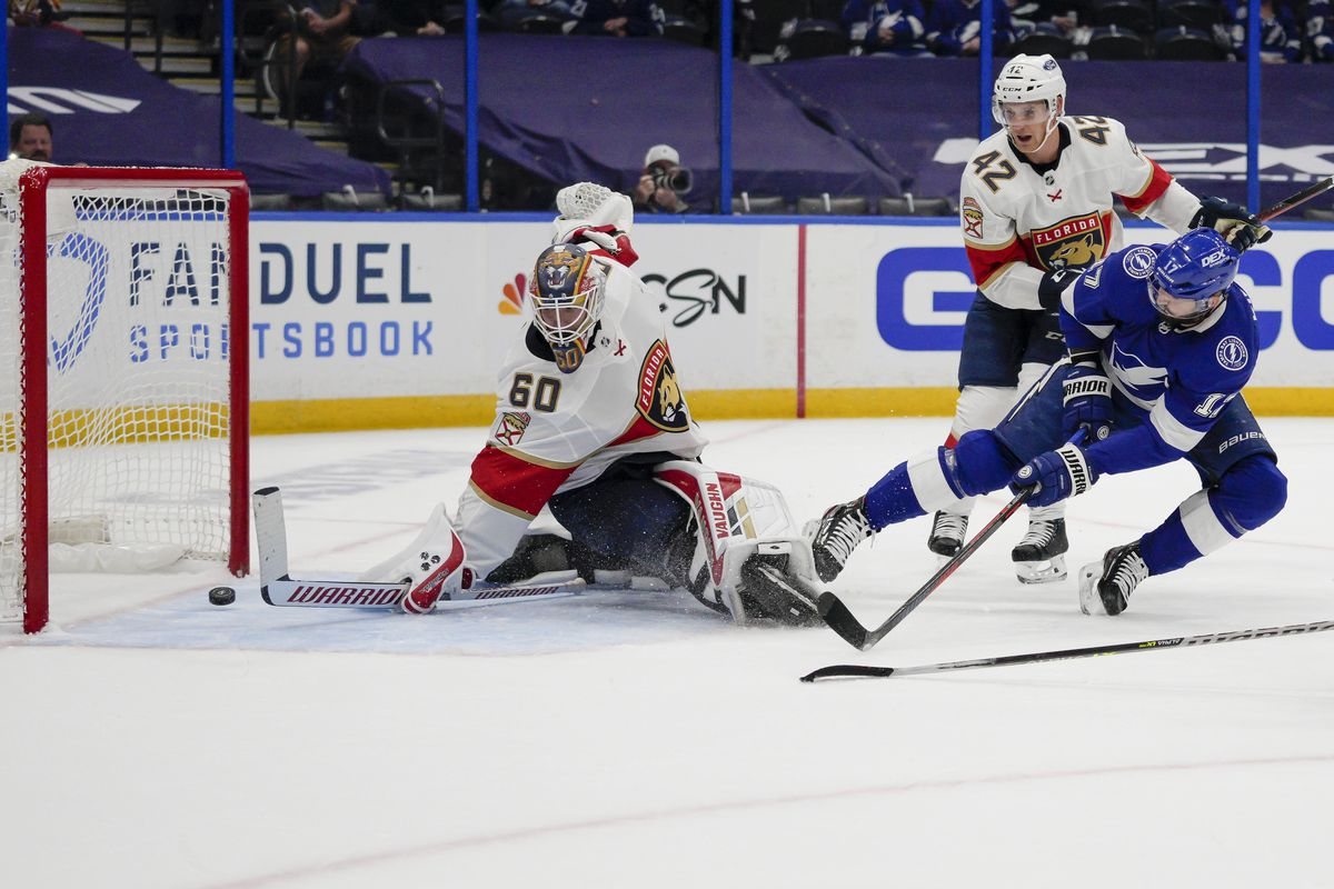 NHL: MAY 20 Stanley Cup Playoffs First Round - Panthers at Lightning