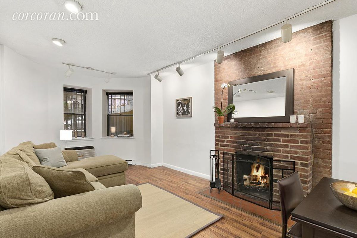 Cozy Upper West Side co-op with exposed brick throughout asks ...
