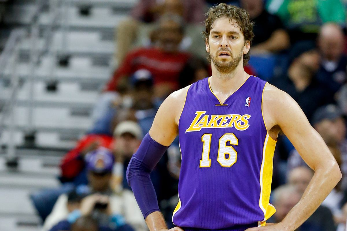 Image result for pau gasol lakers