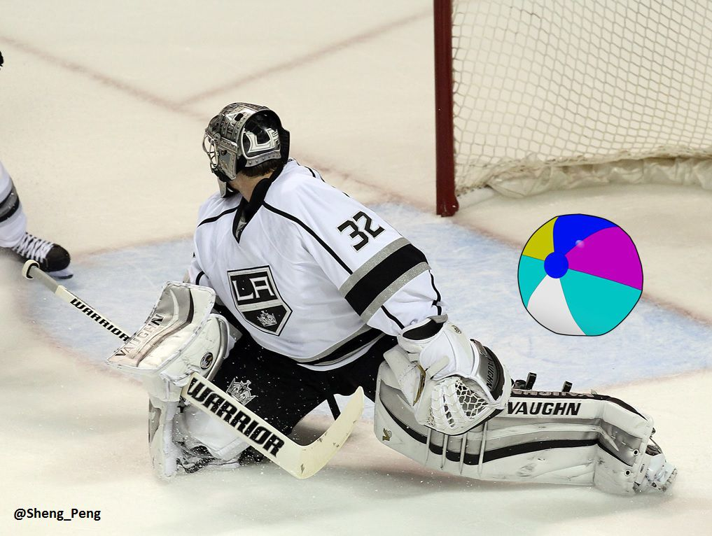 Image result for la kings dan beachball cloutier