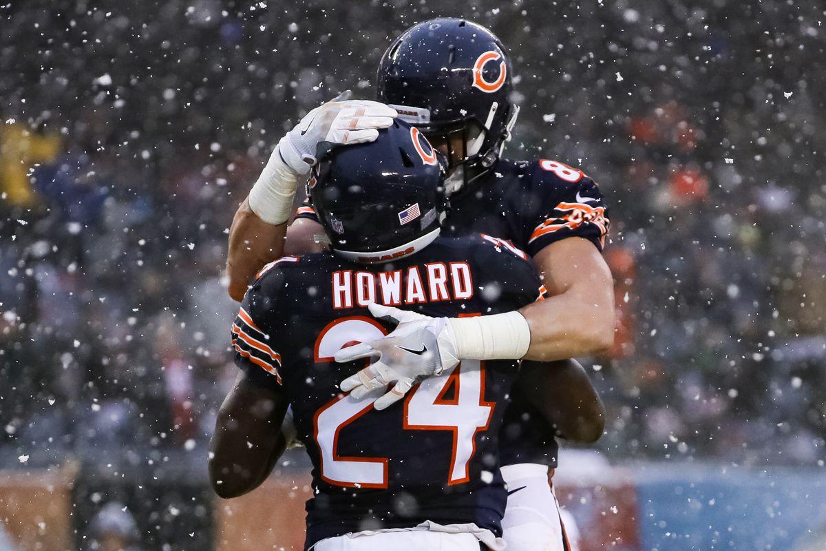 Jordan Howard sets Chicago Bears rookie record for rushing yards