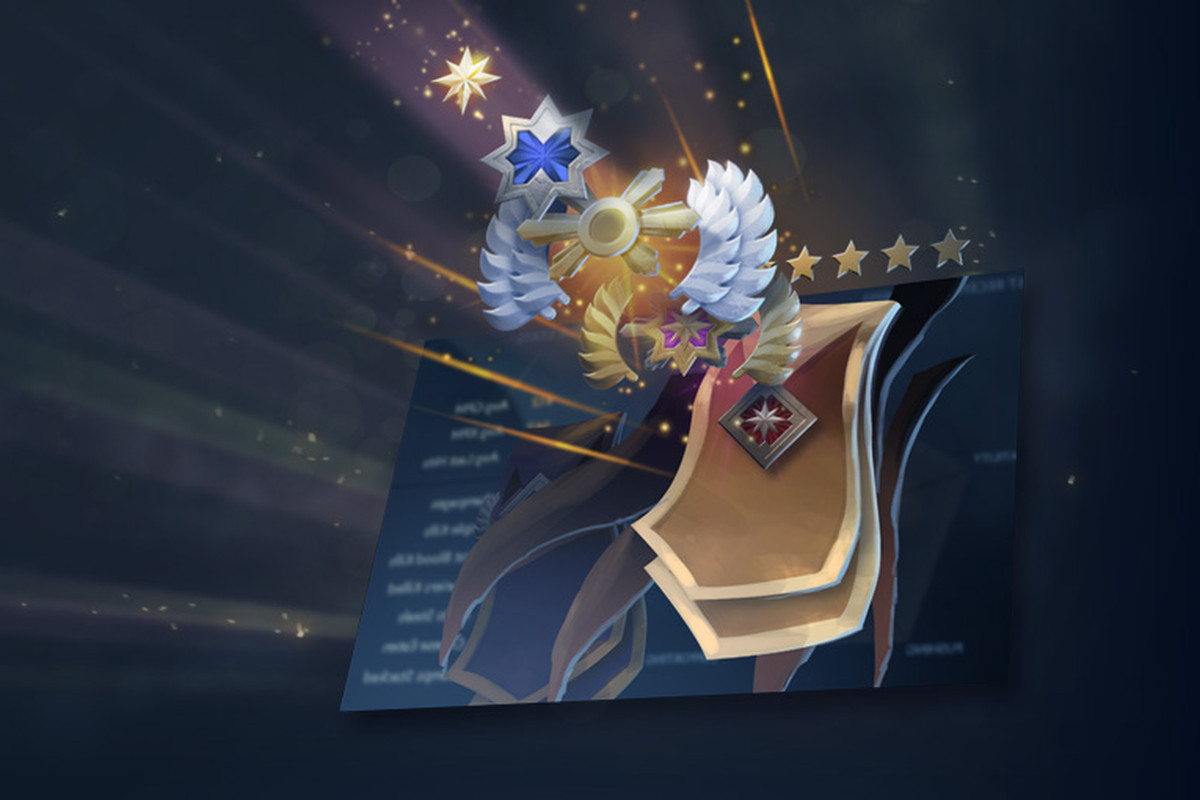 dota 2 s new medal ranked mmr system released for all players