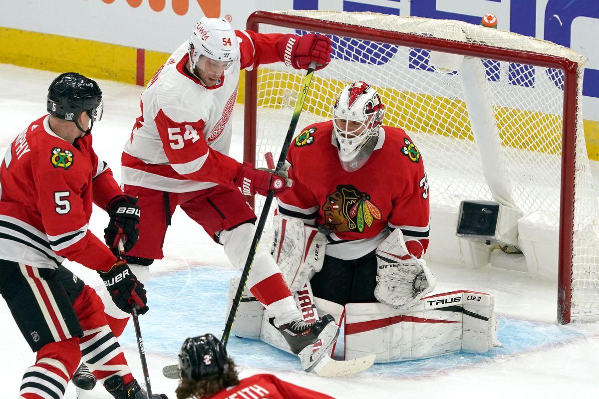 NHL: JAN 24 Red Wings at Blackhawks