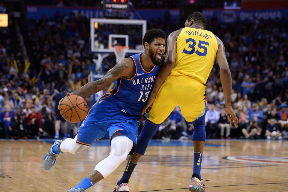 Thunder Vs Warriors Preview And Gamethread Okc Faces The Champs Without Westbrook Roberson Possibly Adams Welcome To Loud City