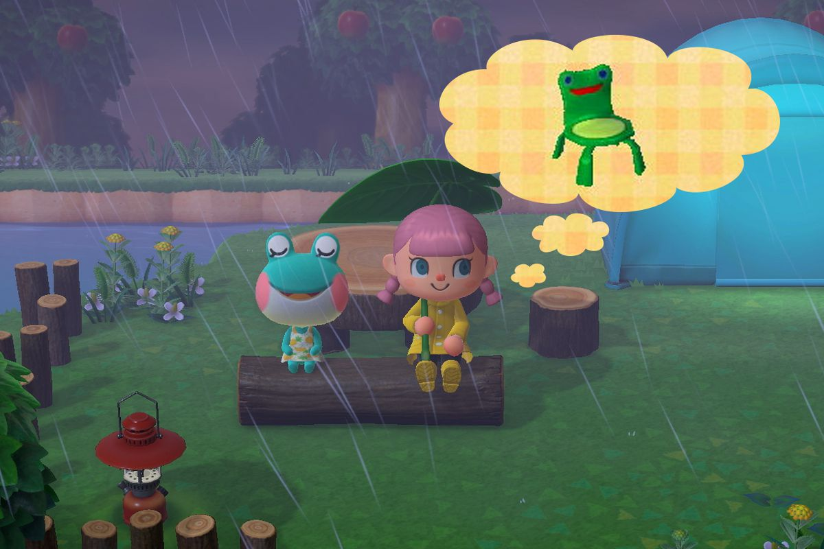 Animal Crossing Froggy Chair Fever Captures The Fandom S