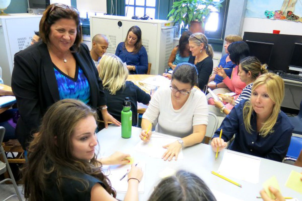 Teachers work together at P.S. 295 in Park Slope.