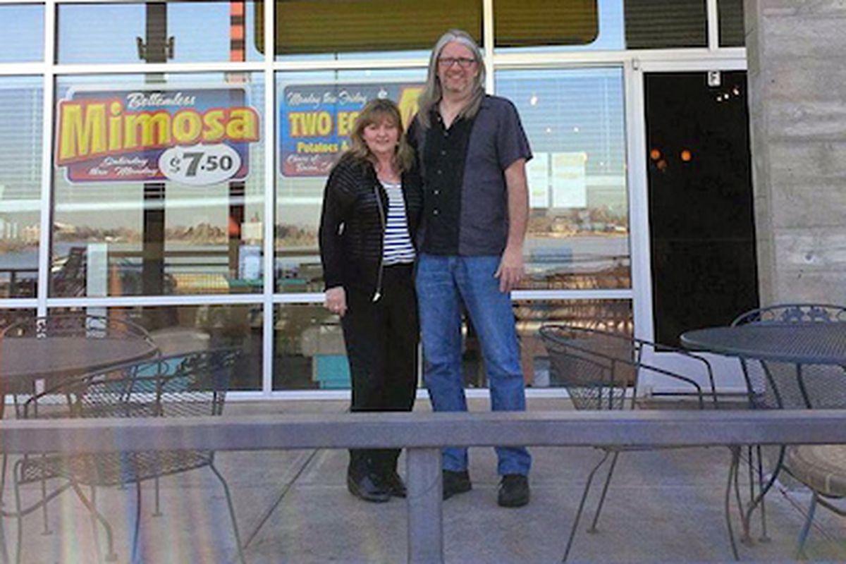 Susan Olsen and Tim Nevadomski