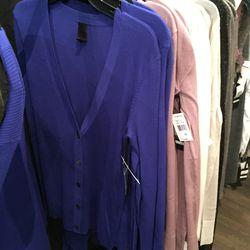 Cobalt sweater, $100 (was $595)