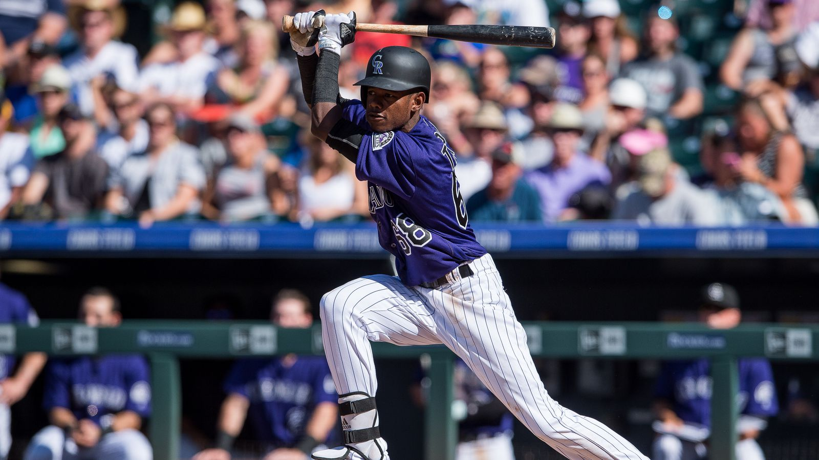 Mlb Rookie Report Raimel Tapia Of Colorado Rockies