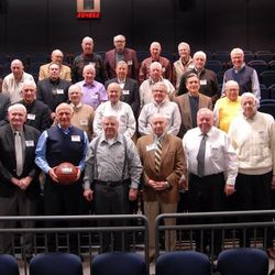 Former Mormon Yankees gather for the premiere of the DVD documentary.