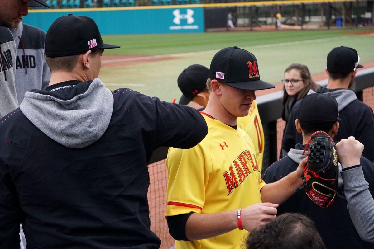 Maryland Baseball Tyler Blohm vs. VCU