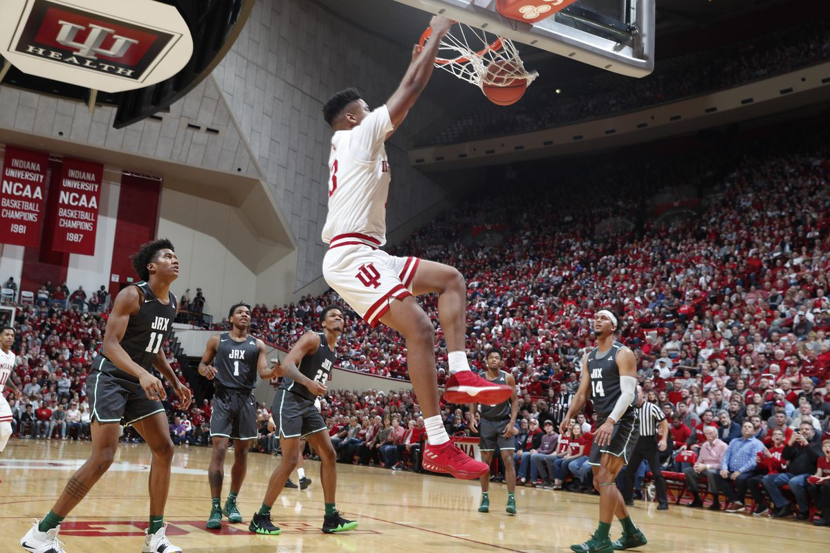 NCAA Basketball: Jacksonville at Indiana