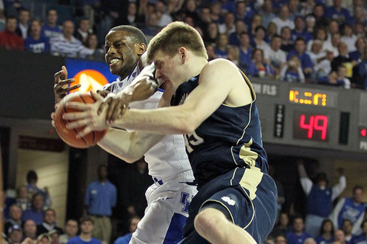 Jack Cooley is a terrific rebounder for Notre Dame.