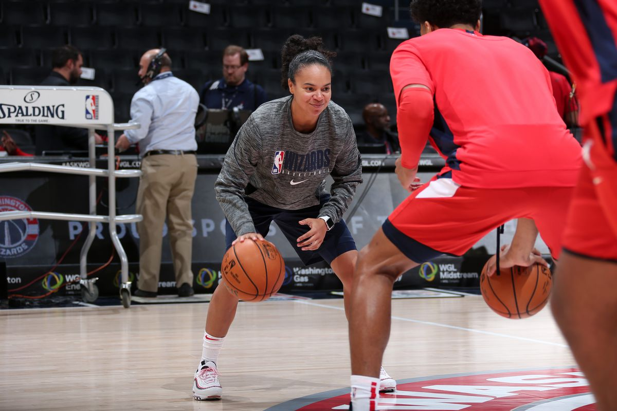 Kristi Toliver optimistic on Wizards' growth despite Clippers loss