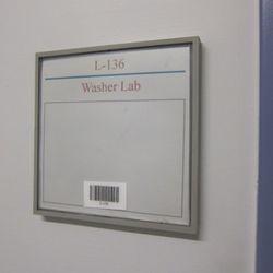 Where they test washing machines