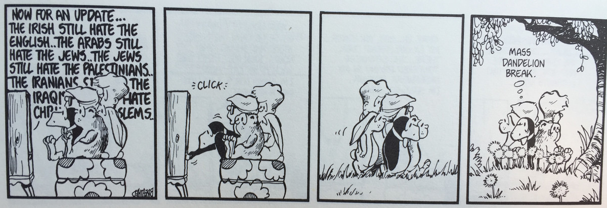 From 'Toons for Our Times,' Little, Brown and Company,1984