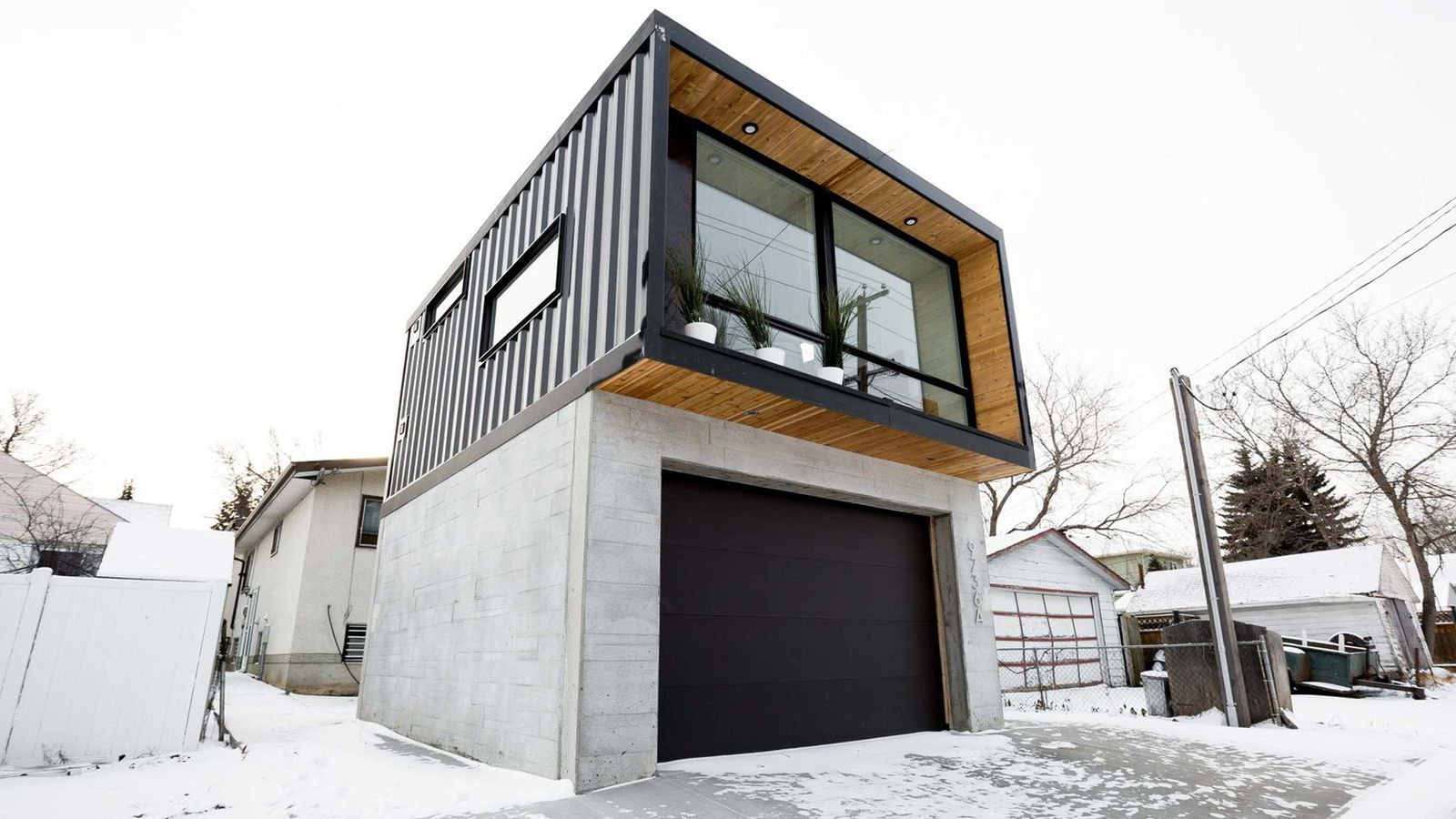 These efficient modern prefabs raise the bar for shipping container homes curbed - Shipping container homes chicago ...