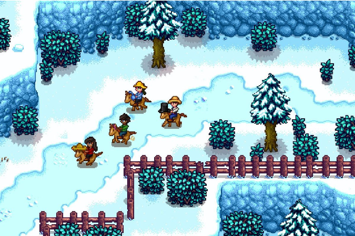 Stardew Valley Multiplayer Comes To Switch This Week Polygon